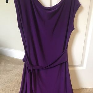 purple dress L